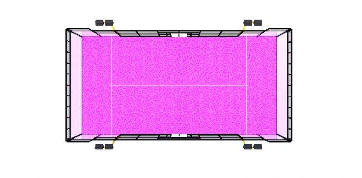 Padel, padelbana Vision